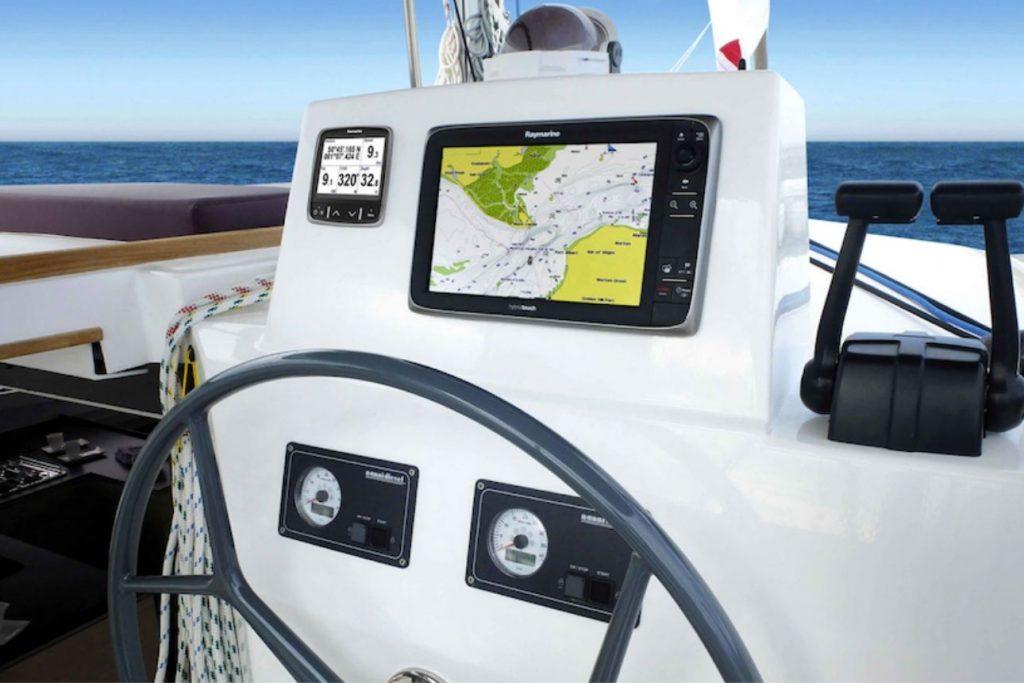 come portare un catamarano | Bali Catamarans pannello di controllo