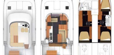 18_MY 37 Maestro usato in vendita Adria Ship layout