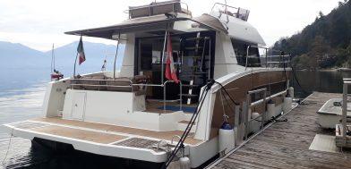 2_MY 37 Maestro usato in vendita Adria Ship poppa
