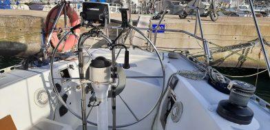 5_Orca 43 usato in vendita Adria Ship timone