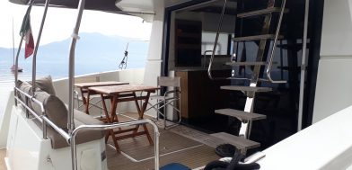 7_MY 37 Maestro usato in vendita Adria Ship pozzetto poppa