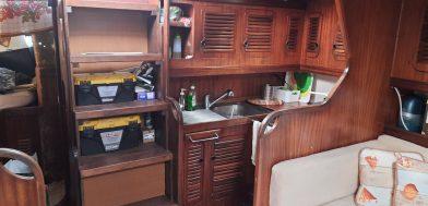 7_Orca 43 usato in vendita Adria Ship cucina